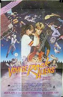 Voyage of the Rock Aliens 1984 poster