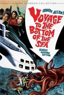 Voyage to the Bottom of the Sea (1961) cover