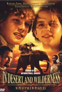 W pustyni i w puszczy 2001 poster