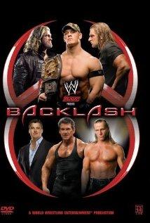 WWE Backlash 2006 poster