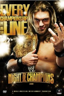 WWE Night of Champions (2009) cover