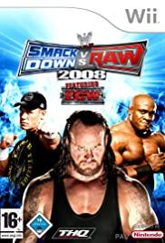 WWE SmackDown vs. RAW 2008 2007 poster