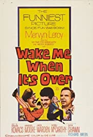 Wake Me When It's Over 1960 poster