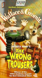 Wallace & Gromit in The Wrong Trousers (1993) cover