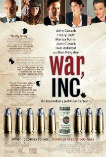 War, Inc. (2008) cover