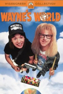 Wayne's World 1992 poster