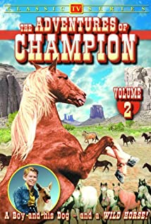 The Adventures of Champion 1955 poster