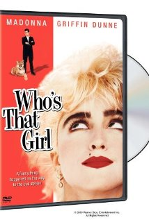 Who's That Girl 1987 poster