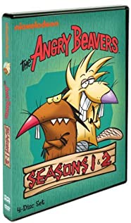 The Angry Beavers 1997 poster
