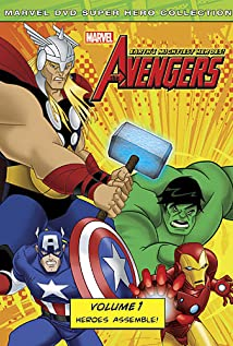 The Avengers: Earth's Mightiest Heroes (2010) cover