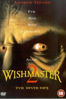 Wishmaster 2: Evil Never Dies (1999) cover