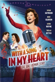 With a Song in My Heart 1952 poster