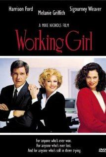Working Girl 1988 poster