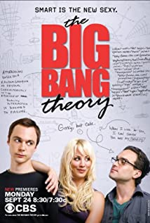 The Big Bang Theory 2007 poster
