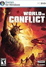 World in Conflict 2007 poster