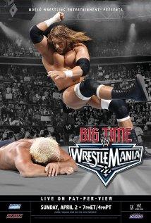 WrestleMania 22 (2006) cover