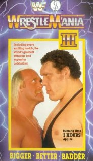 WrestleMania III 1987 poster