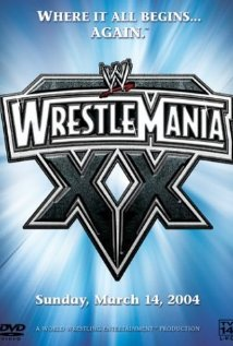 WrestleMania XX (2004) cover