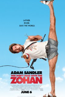 You Don't Mess with the Zohan 2008 poster