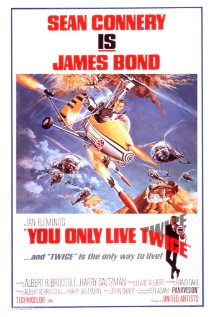 You Only Live Twice 1967 poster