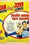 You're Never Too Young (1955) cover