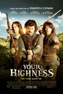Your Highness (2011) cover