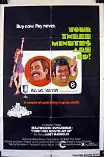 Your Three Minutes Are Up (1973) cover