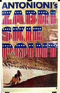 Zabriskie Point 1970 poster
