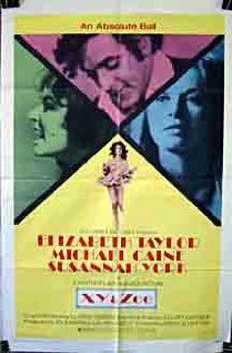 Zee and Co. 1972 poster