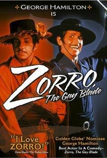 Zorro: The Gay Blade (1981) cover