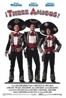 ¡Three Amigos! (1986) cover