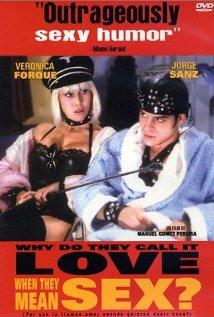 ¿Por qué lo llaman amor cuando quieren decir sexo? (1993) cover