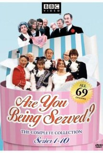 Are You Being Served? (1972) cover