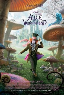 Alice in Wonderland 2010 poster