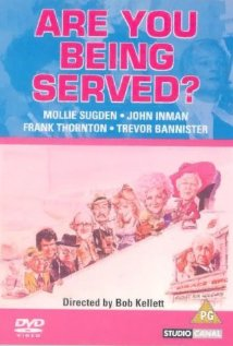 Are You Being Served? (1977) cover