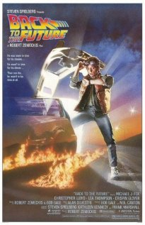 Back to the Future (1985) cover
