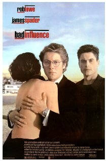 Bad Influence 1990 poster