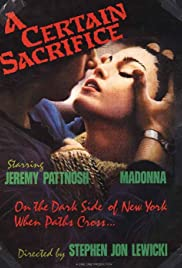 A Certain Sacrifice (1985) cover