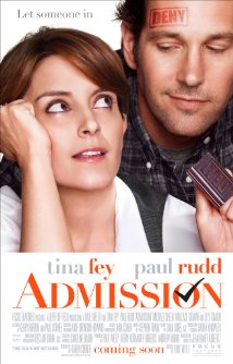 Admission (2013) cover