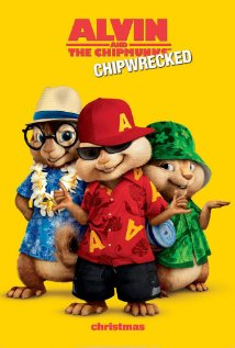 Alvin and the Chipmunks: Chipwrecked 2011 poster