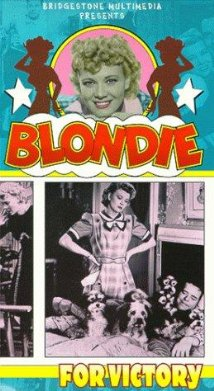 Blondie for Victory (1942) cover