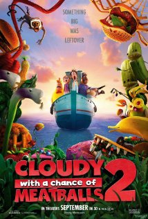 Cloudy with a Chance of Meatballs 2 2013 poster