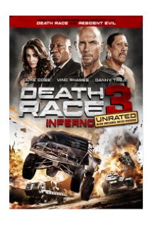 Death Race: Inferno 2012 poster