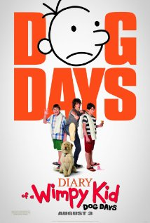 Diary of a Wimpy Kid: Dog Days (2012) cover