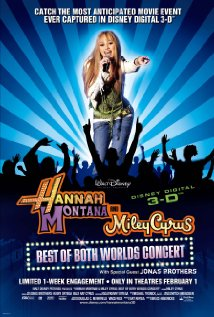 Hannah Montana & Miley Cyrus: Best of Both Worlds Concert 2008 poster