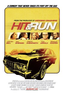 Hit and Run 2012 poster