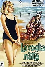 La voglia matta (1962) cover