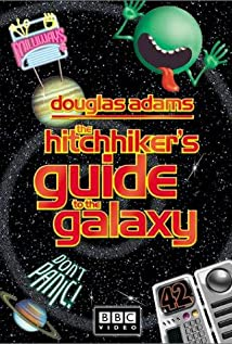 The Hitch Hikers Guide to the Galaxy 1981 poster