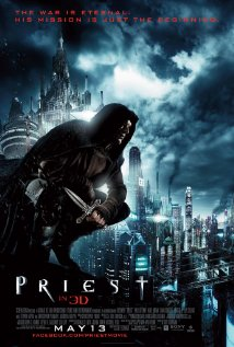 Priest (2011) cover