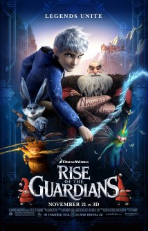 Rise of the Guardians (2012) cover